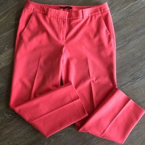 Elie Tahari pink ankle length pants